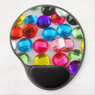 Bejeweled Bevy Of Beaded Buttons Gel Mouse Pad