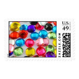 Bejeweled Bevy Of Beaded Buttons Postage