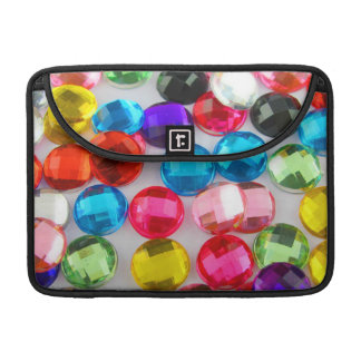 Bejeweled Bevy Of Beaded Buttons Sleeve For MacBooks