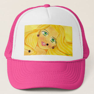 Bejeweled Brooklyn Trucker Hat