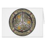 Bejeweled Celtic Shield