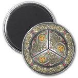 Bejeweled Celtic Shield Fridge Magnets