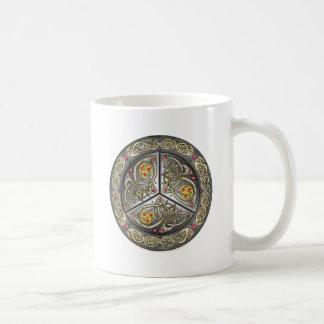 Bejeweled Celtic Shield Mug