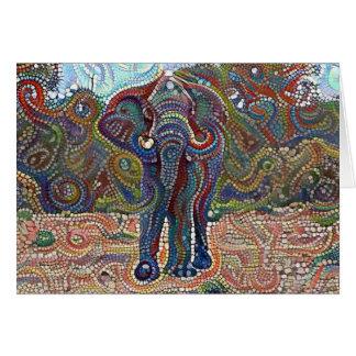 Bejeweled Elephant Card