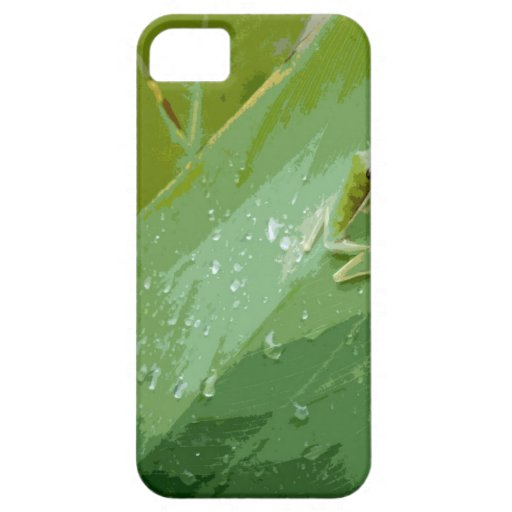 Bejeweled Green Frog iPhone 5 Cases
