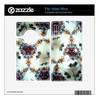 Bejeweled Kaleidescope 02 Flip Skin Decal For Flip Mino