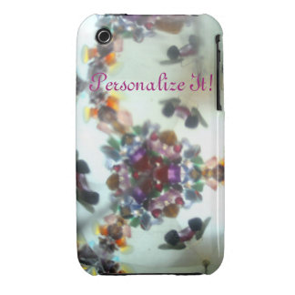 Bejeweled Kaleidescope 02 (personalized) iPhone 3 Case-Mate Case