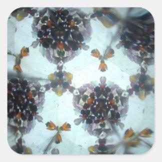 Bejeweled Kaleidescope 05 Square Sticker