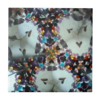 Bejeweled Kaleidescope 09 Ceramic Tile