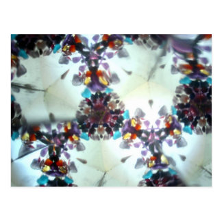 Bejeweled Kaleidescope 10 Postcard