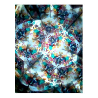 Bejeweled Kaleidescope 20 Postcard