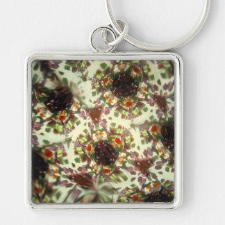 Bejeweled Kaleidescope 29 Keychain