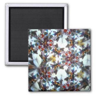 Bejeweled Kaleidescope 40 Refrigerator Magnets