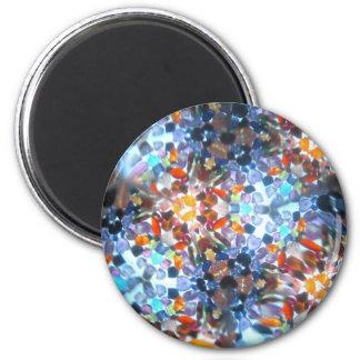 Bejeweled Kaleidescope 52 Magnet