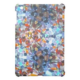 Bejeweled Kaleidescope 52 (personalized) iPad Mini Cover