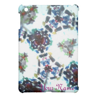 Bejeweled Kaleidescope 55 (personalized) Cover For The iPad Mini