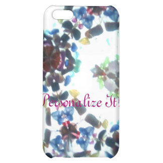 Bejeweled Kaleidescope 55 (personalized) Cover For iPhone 5C