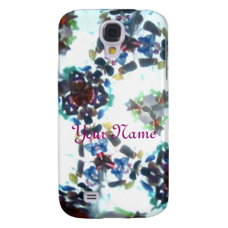 Bejeweled Kaleidescope 55 (personalized) Samsung Galaxy S4 Case