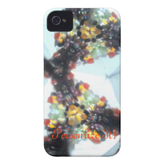 Bejeweled Kaleidescope 56 (personalized) iPhone 4 Cover