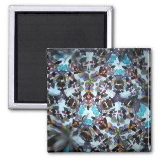 Bejeweled Kaleidescope 57 Refrigerator Magnet