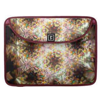 Bejeweled Kaleidescope For April Sleeves For MacBook Pro