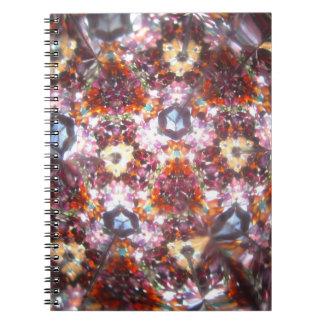 Bejeweled Kaleidescope for April Notebook