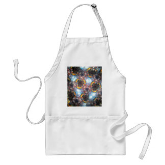 Bejeweled Kaleidescope for August Adult Apron