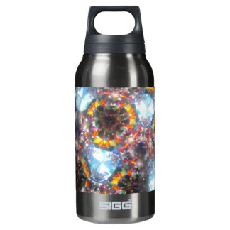 Bejeweled Kaleidescope for August Insulated Water Bottle