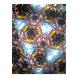 Bejeweled Kaleidescope for August Postcard