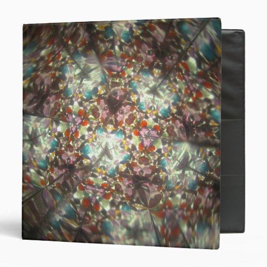 Bejeweled Kaleidescope for February binder