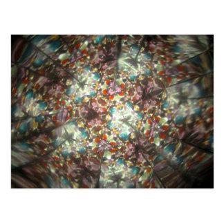 Bejeweled Kaleidescope for February Postcard