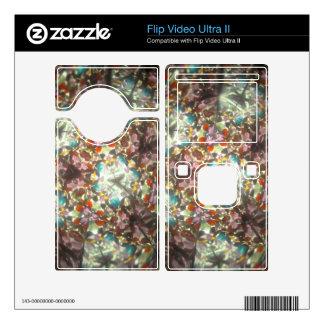 Bejeweled Kaleidescope for February Skins For Flip Ultra II