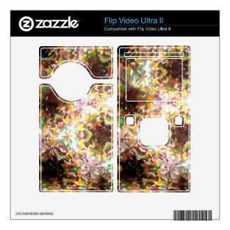 Bejeweled Kaleidescope for January Flip Ultra II Decal