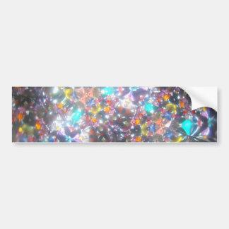 Bejeweled Kaleidescope for July Car Bumper Sticker