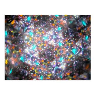 Bejeweled Kaleidescope for July Postcard
