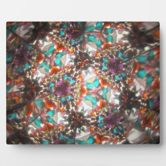 Bejeweled Kaleidescope for May Plaque