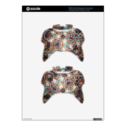 Bejeweled Kaleidescope for May Xbox 360 Controller Skin