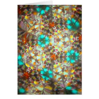 Bejeweled Kaleidescope for November Card