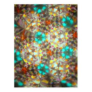 Bejeweled Kaleidescope for November Postcard