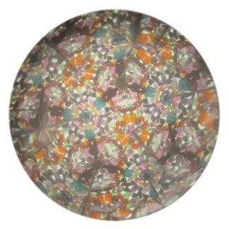 Bejeweled Kaleidescope for October Plate