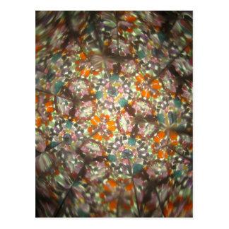 Bejeweled Kaleidescope for October Postcard