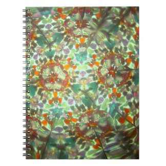 Bejeweled Kaleidescope for September Notebook