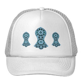 Bejeweled Sandal of The Prophet (Blue/Green) Trucker Hat