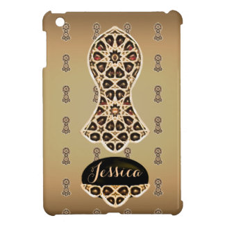 Bejeweled Sandal of The Prophet (Golden) iPad Mini Cases