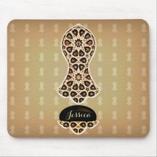 Bejeweled Sandal Of The Prophet (Golden) Mouse Pad