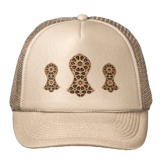 Bejeweled Sandal Of The Prophet (Golden) Trucker Hat
