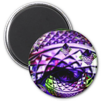 Bejeweled Splendor by JudyMarisa 2 Inch Round Magnet