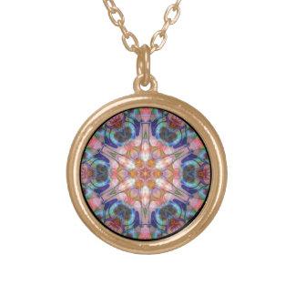 Bejeweled Sun Disk Version 1  Necklace
