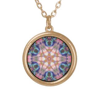 Bejeweled Sun Disk Version 2  Necklace