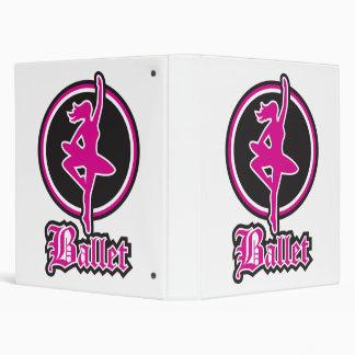 Beka Ballet 3 Ring Binder